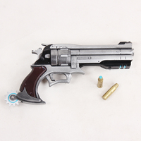 Jesse McCree Cosplay Revolver and Bullets Gun Weapon Prop mp003432