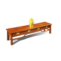 Living Room TV Stand Unit Cabinet Console Furniture Hedgehog rosewood Mahogany furniture Antique TV Stand