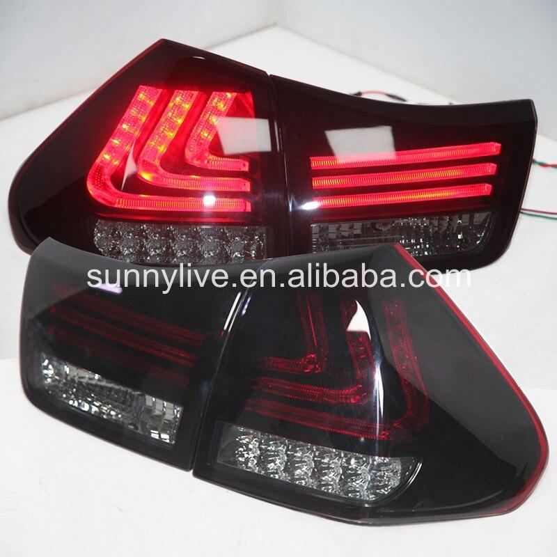 Herrier Kluger для Lexus RX300 RX330 RX350 светодио дный задний фонарь 04 09 год красный Корпус Дым объектива