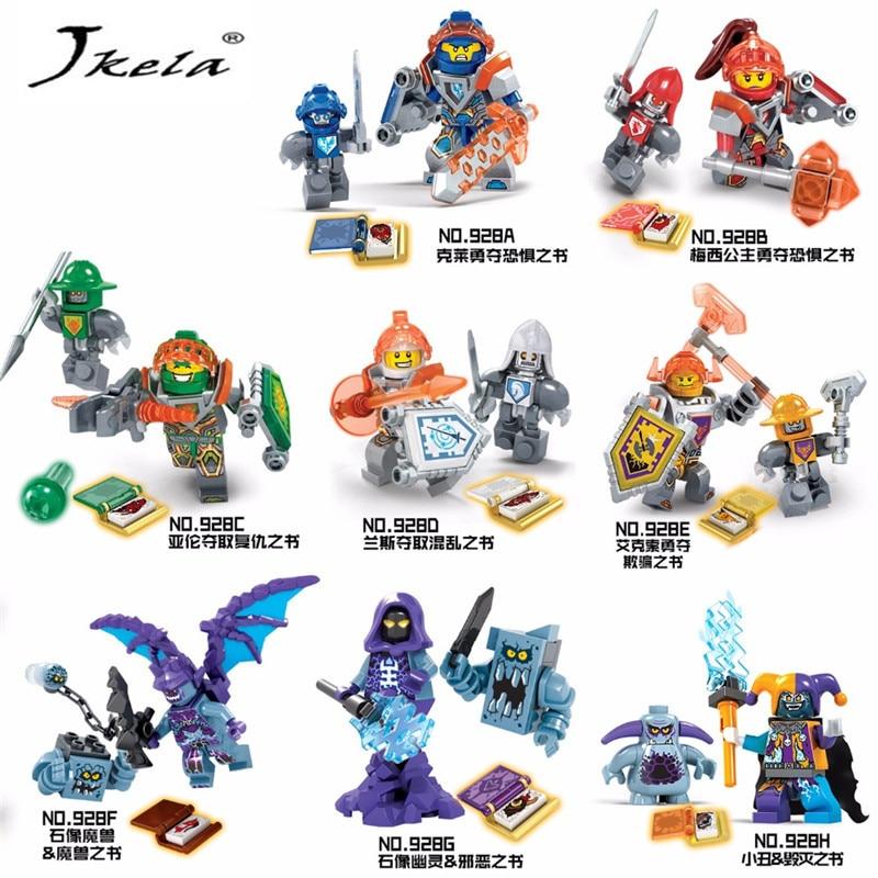 [Jkela] Ninjago Nexo Knights Future Shield Building Blocks Castle Warrior Nexus Toys Gift Compatibe With Legoingly Nexo Knights