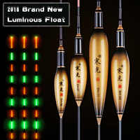 2019 Brand New LED Luminous Floats 6 Models Golden Composite Nano Fishing Floats Stopper Pesca Bobber Fishing Accessories Tackle
