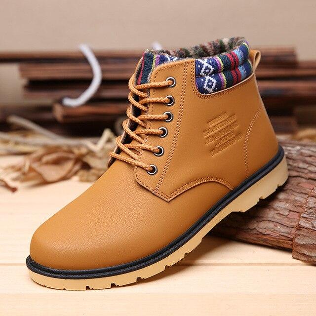 Aliexpress.com : Buy Men Boots 2016 Winter Best Quality Snow Boots ...