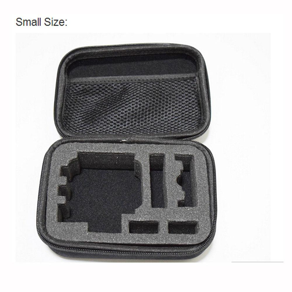 Image 2 - EastVita Portable Carry Case Hard Bag Sports Camera Accessory Anti shock Storage Bag for Go pro Hero 3/4 SJCAM Action Camera-in Sports Camcorder Cases from Consumer Electronics