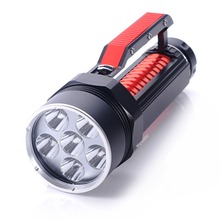 High Power LED 6L2 Professional Diving Flashlight Magnetic Control Electrodeless Dimming Light Waterproof