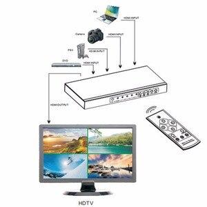 Image 2 - 4 포트 hdmi 스위치 seamless switcher 4x1 멀티 뷰어 어댑터, full hd1080p, xbox 360 ps4/3 스마트 안드로이드 hdtv 용 무료 배송