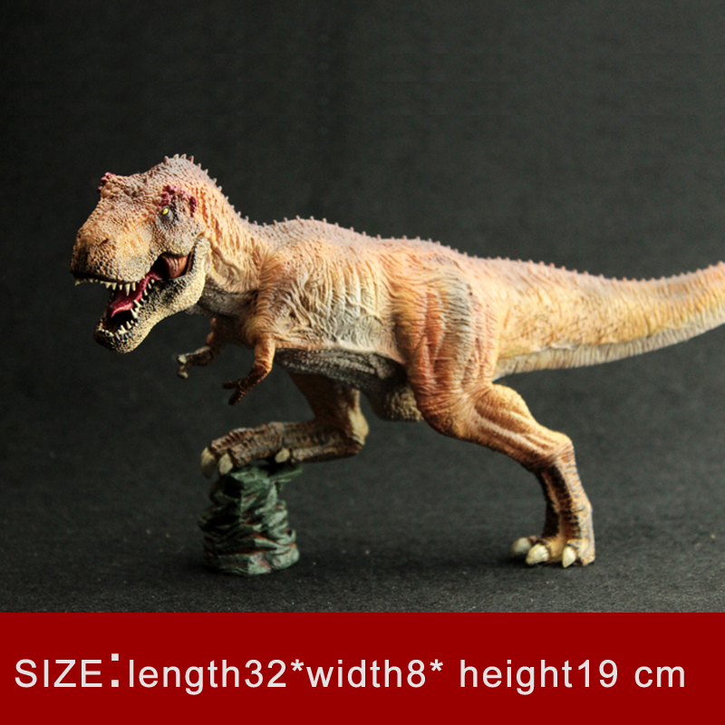 King T-Rex The Simulation Model of Animal Toy Dinosaur World Emperor Tyrannosaurus Tarbosaurus Rex Tyranny big one simulation animal toy model dinosaur tyrannosaurus rex model scene