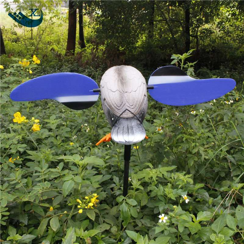 ФОТО Turkey Hunting Wholesale 6V Motor Duck Decoy Plastic Greenhead Duck Hunting Decoy Duck With Spinning Wings From Xilei