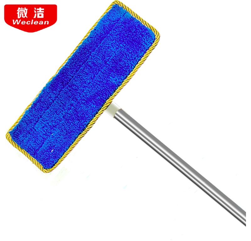 Long Rod Flat Mop Extended Wall