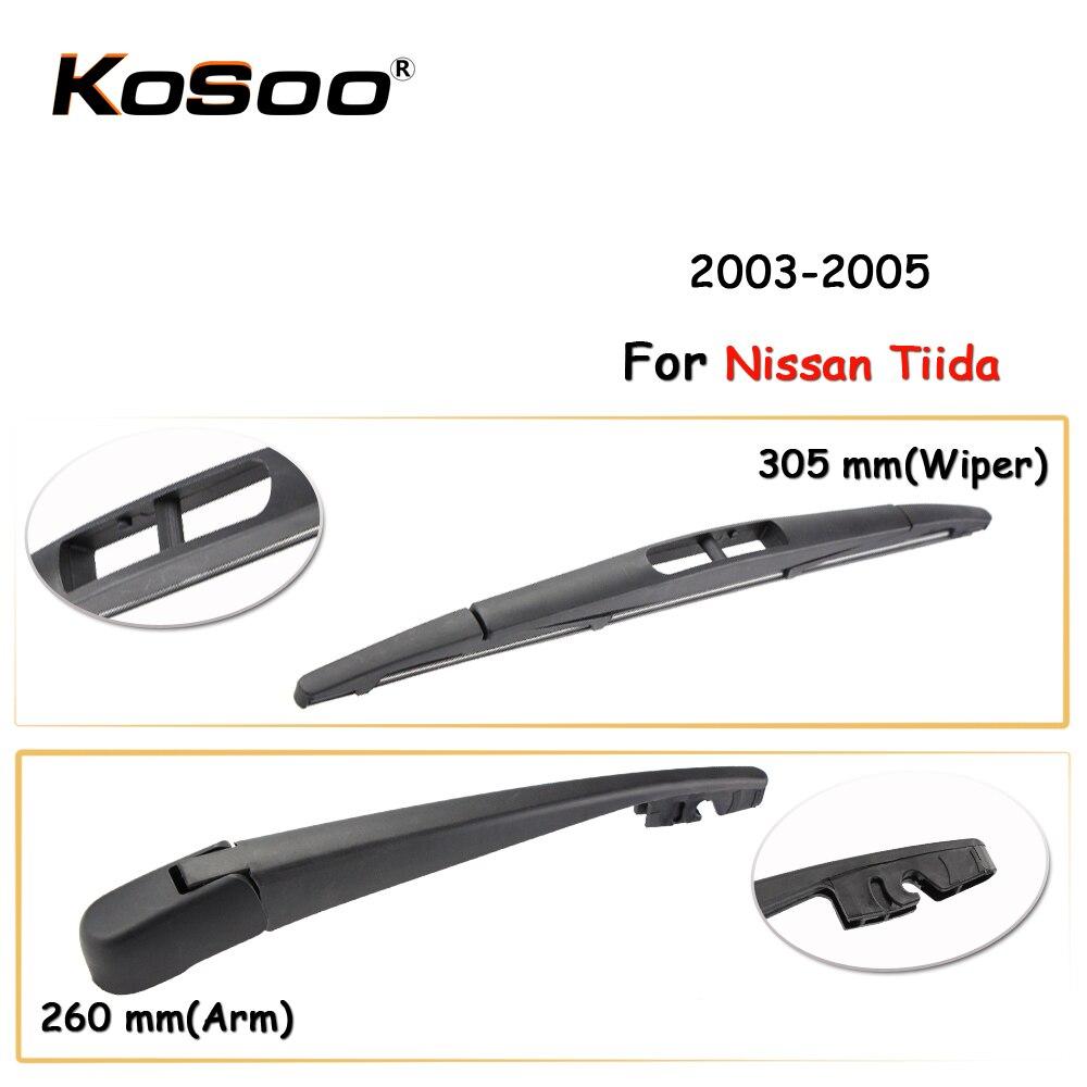 KOSOO Auto Rear Car Wiper Blade For Nissan Tiida,305mm