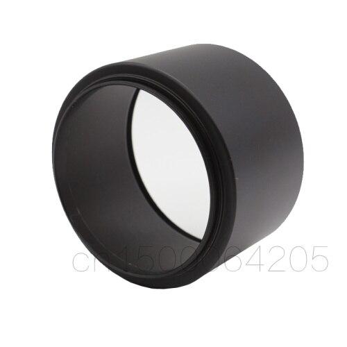 Métal Tele Lens Hood 37mm 39mm 40.5mm 43mm 46mm Vis-en Téléobjectif Tubulaire Lente protéger Pour Canon ForNikon ForSony DSLR Caméra