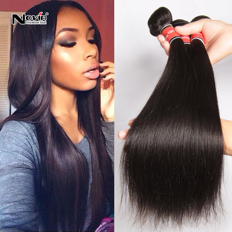 Cheap Brazilian Virgin Hair 3pcslot Straight Saga Remy Hair