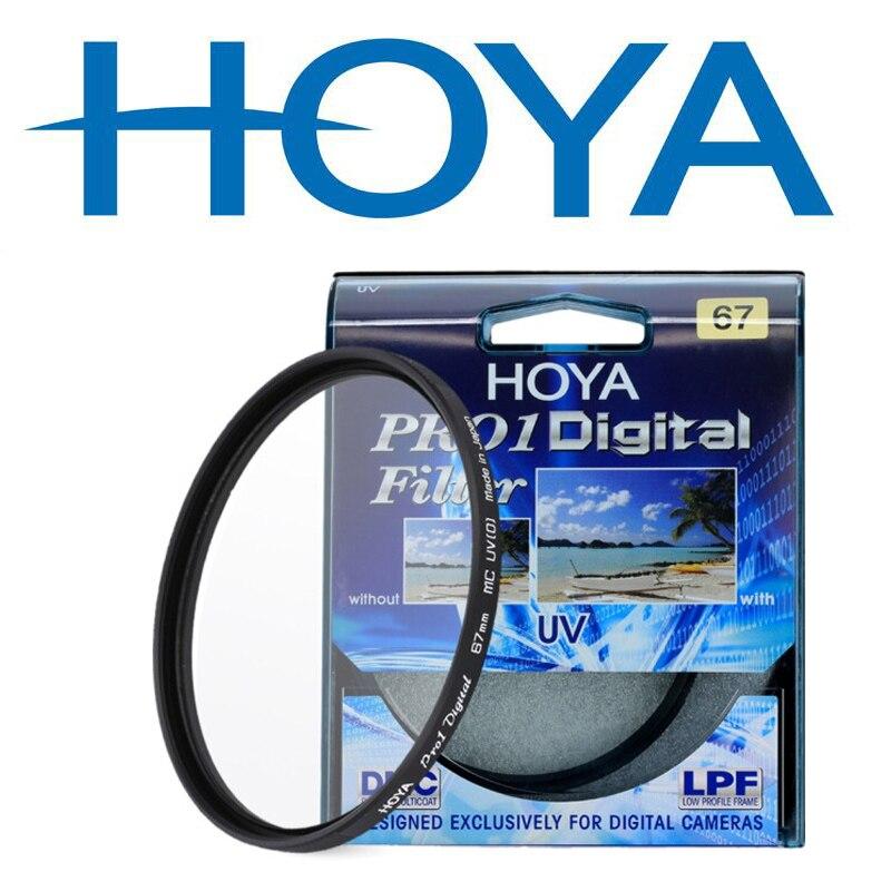 HOYA PRO1 Numérique UV Filtre Camera Lens Filtre 58mm 67mm 72mm 77mm 82mm 46mm 49mm 52mm 55mm Lentille UV De Protection Filtre
