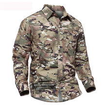 de17f7fbacfa Men s Summer Quick Dry Camouflage Sleeve Detachable Shirt Outdoor Training  Climbing Breathable Removable TWO Parts Tactical Tops