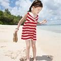 New Girl's Wear Sleeveless dress Striped Casual dress Kids Cute Dress Clearance