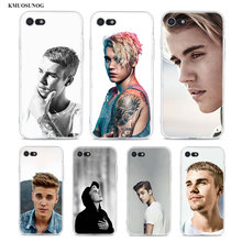Transparent Soft Silicone Phone Case Justin bieber for iPhone XS X XR Max 8 7 6 6S Plus 5 5S SE