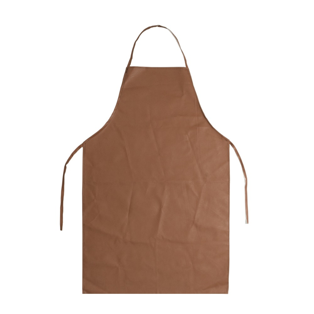 PU Leather Welding Apron Equipment Welder Insulation Protection 100cm Practical
