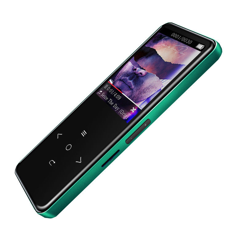 Bluetooth Touch Screen MP3 Player 8GB HIFI Lossless Sound Music Players Quick Charging MP3 Support Record Vedio Ebook FM Radio