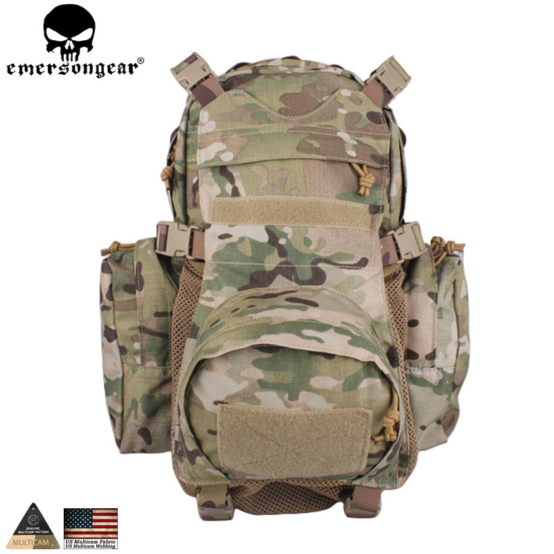 f38e3e61b61 EMERSONGEAR Yote Rucksack Hydration Multicam Tactical Backpack Daypack for Hiking  Bag Travel Pack EM5813-in Hunting Bags from Sports   Entertainment on ...