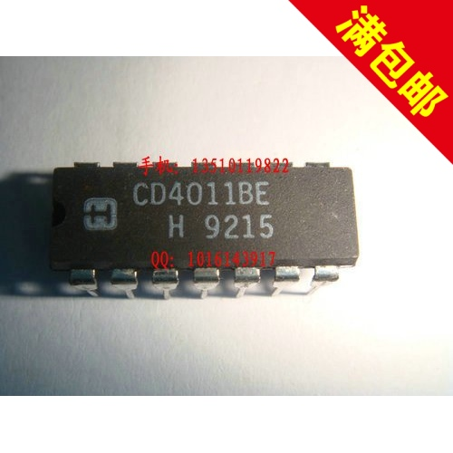1PCS logic IC font b calculator b font CD4011BE DIP New and original