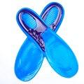 NO1090-1106 Heel Spur Plantar Fasciitis black Shock Absorption Cushion Massaging 01a2 Gel Insoles for Shoes Woman Men size 36-45