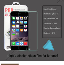 High Quality Real Tempered Glass Screen Protector for iPhone 5 5s 5c SE Explosion proof 2