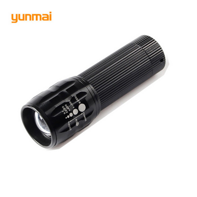 XPE LED Waterproof Small Torch Q5 Led Zoomable Handy Torch 3*AAA Battery Lantern Spotlight Powerful Bike Light Riding Flashlight
