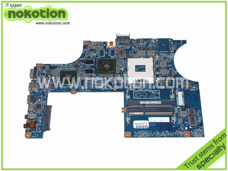NOKOTION MB.PTB01.001 48.4HL01.031 Laptop Motherboard for Acer Timelime 3820T ATI Mobility Radeon HD 5470 Mainboard Full Tested nokotion for hp 4720s 598670 001 48 4gk06 011 laptop motherboard mobility radeon hd 5430 mainboard full tested