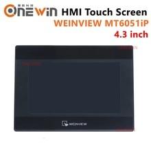 Weinview mt6051ip hmi tela de toque 4.3 polegada 480*272 usb ethernet nova interface da máquina humana exibição