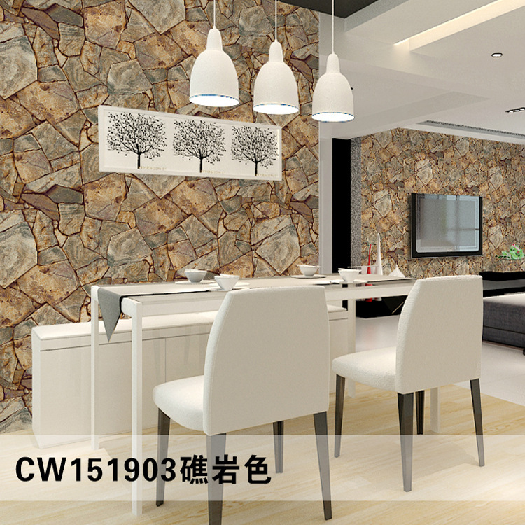 Chinese style 3d wallpapers 3d wallpapers stone bricks for 3d stone wallpaper for living room