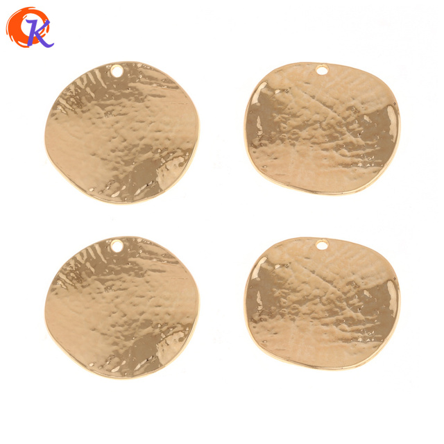 Cordial Design 50Pcs 29*30MM Jewelry Accessories/Earrings Connectors/Round Shape/Jewelry Parts/DIY/Hand Made/Earring Findings