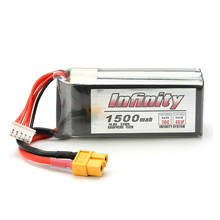 Infinity 4S 14.8V 1500mAh 70C Graphene LiPo Battery XT60 Support 15C Boosting Charge For Raceing Drone