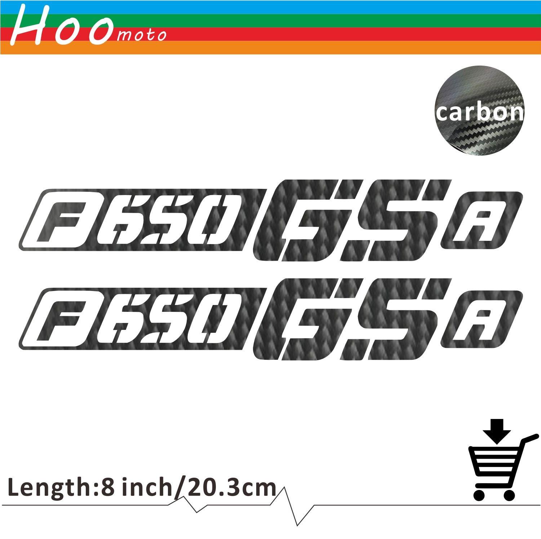 For bmw f650gs f 650 gs a motorcycle sticker decal carbon car sticker wheels fairing helmet 5d carbon fiber sticker moto