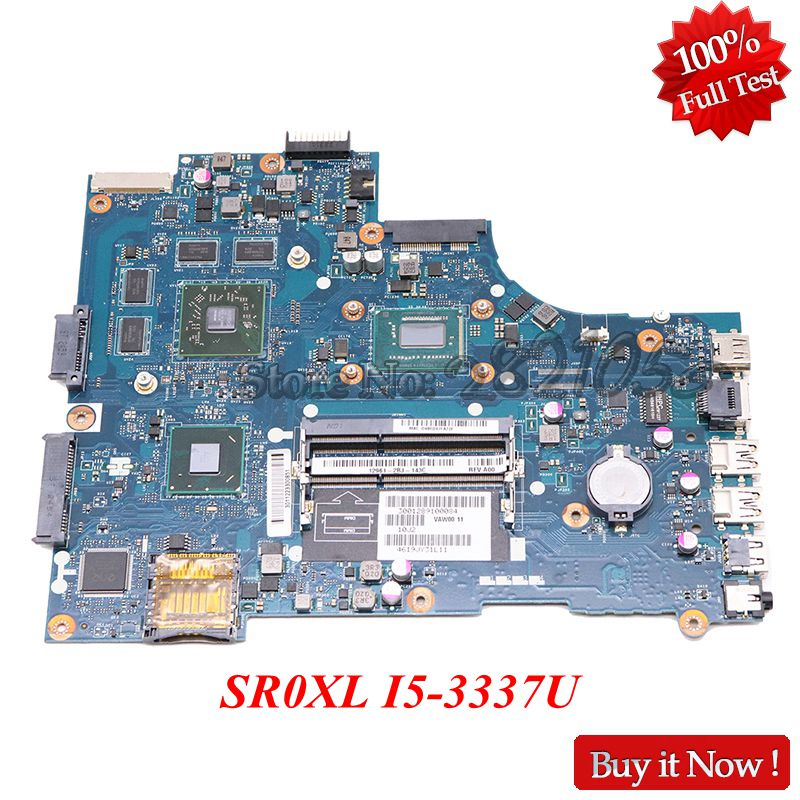 NOKOTION VAW01 LA 9101P CN 0P14T7 0P14T7 Main Board For Dell inspiron 3521 5521 Laptop Motherboard