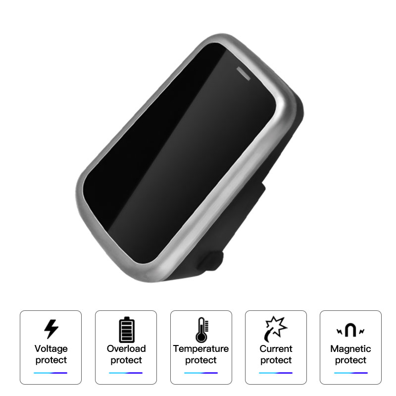 2019 Newest 10W Car Qi Wireless Charger For Volvo XC90 S60 XC60 S90 C60 V60 For Samsung Note 9 S9 S8 Mobile Phone Charging Plate mobile phone