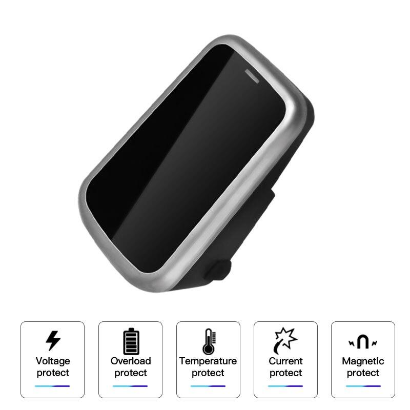 2019 Nouvelle Voiture Qi Sans Fil Chargeur Mobile Téléphone De Charge Plaque Pour Volvo XC90 S60 XC60 S90 C60 V60 Pour Samsung note 9 S9 S8