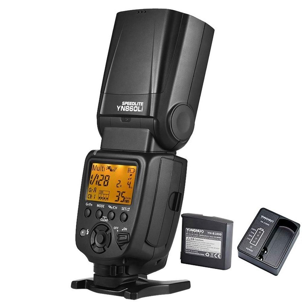 Yongnuo YN860Li Universal Wireless Master Slave Blitz Speedlite - Kamera und Foto