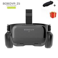 Casque Bobo Bobovr Z5 Helmet 3D VR Glasses Virtual Reality Headset For Smartphone Smart Phone Google Cardboard Goggles Lunette