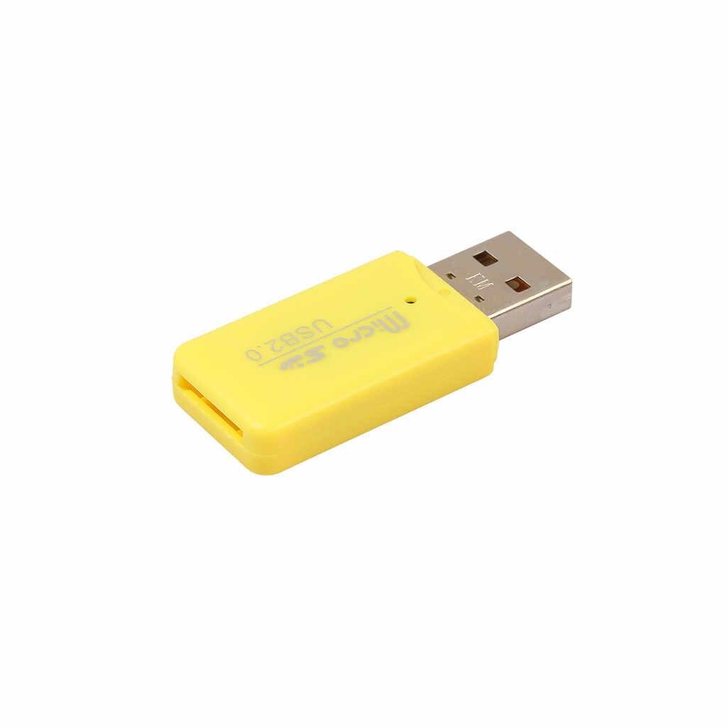 عالية السرعة مصغّر USB 2.0 مايكرو SD TF T-Flash ذاكرة محوّل قارئ البطاقات ذاكرة محوّل قارئ البطاقات ل Micro SD MS M2 T-Flash