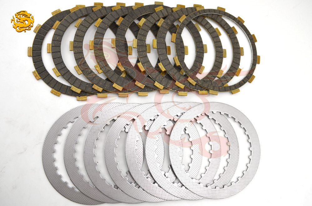 A Set Friction Plates Steel Plate Motorcycle Parts Clutch