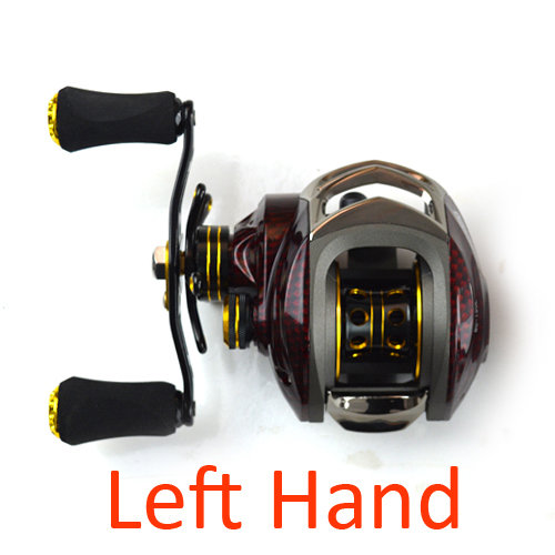 Promote baitcasting reel 18 ball bearings left hand right for Left handed fishing reels