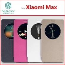 Кожаный чехол Для Сяо Mi Max Оригинальный Nillkin Sparkle Series Мода откидная крышка для сяо Mi Max
