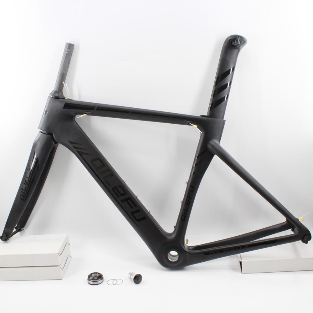 Bike Front Fork Carbon Fiber Matt Glossy MTB Racing Road Bike Cycling Supplies