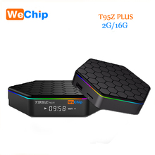 [WeChip] octa-core cortex-A53 T95Z PLUS Android 6.0 TV Box 2G/16G KDPlayer 17.0 2.4G + 5G DualBluetooth Gigabit Reproductor Multimedia