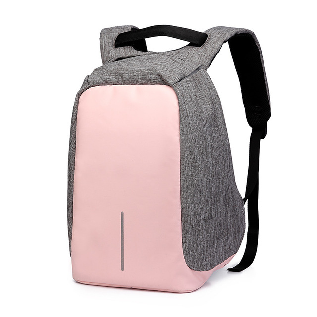14 Inch Waterproof Oxford USB Charging Men's Women Backpack Mochila for Womens School Bag Pack Laptop Notebook