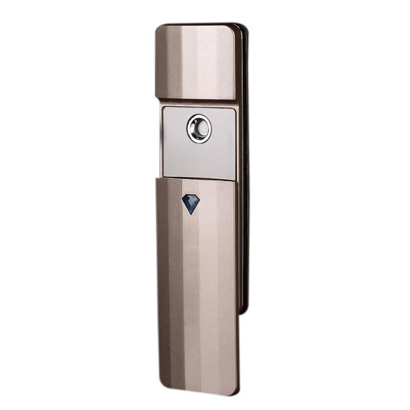 HOT!-Portable Nano Spray Mist Handy Facial Steamer Mister Usb Rechargeable Face Moisturize Hydrating Sprayer Device Beauty Ins(China)
