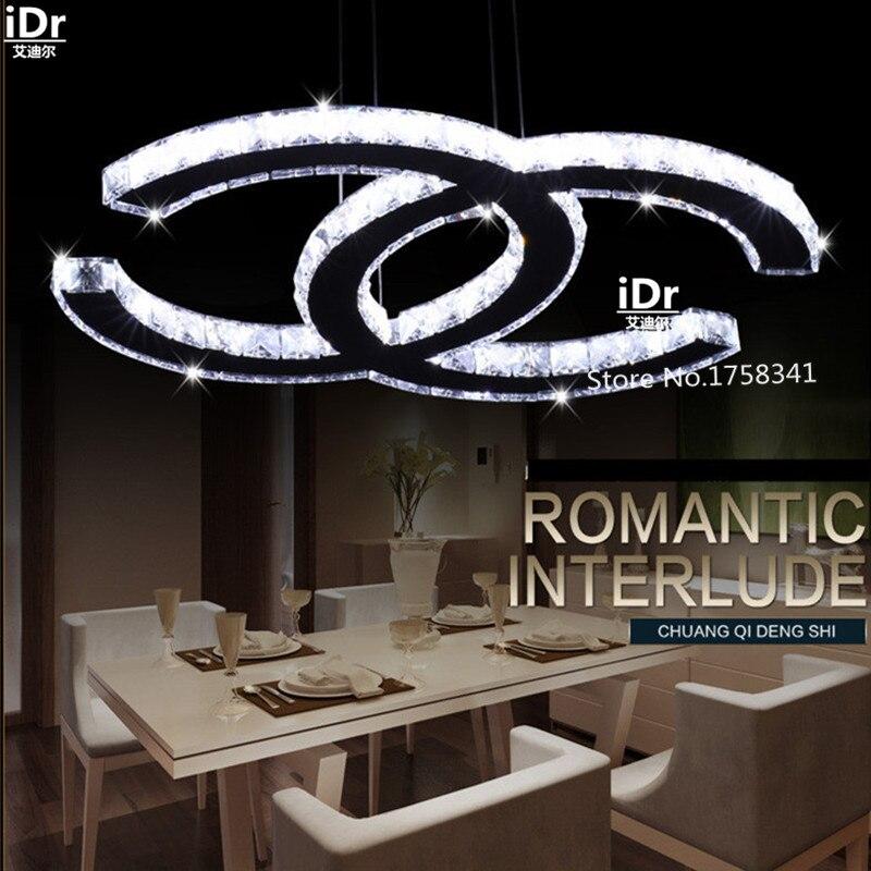 New Hot sale c style LED K9 crystal chandelier modern living room dining room Bedroom lights