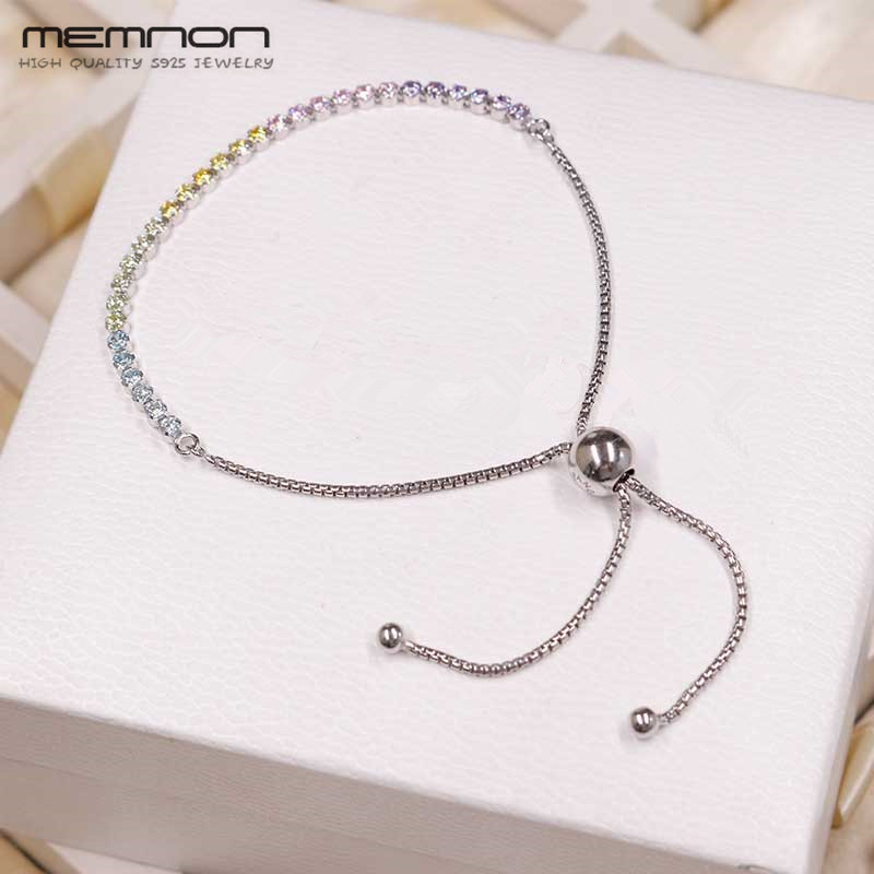 2018 Summer New Multi-colour Sparkling Strand Bracelets fit 925 sterling silver Jewelry charms beads DIY bracelet for Women2018 Summer New Multi-colour Sparkling Strand Bracelets fit 925 sterling silver Jewelry charms beads DIY bracelet for Women