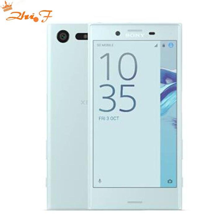 Original da Sony Xperia X Compact F5321 32 3 gb RAM gb ROM Único SIM 5.2 Polegada Android Núcleo octa 23MP Camera Desbloqueado Celular
