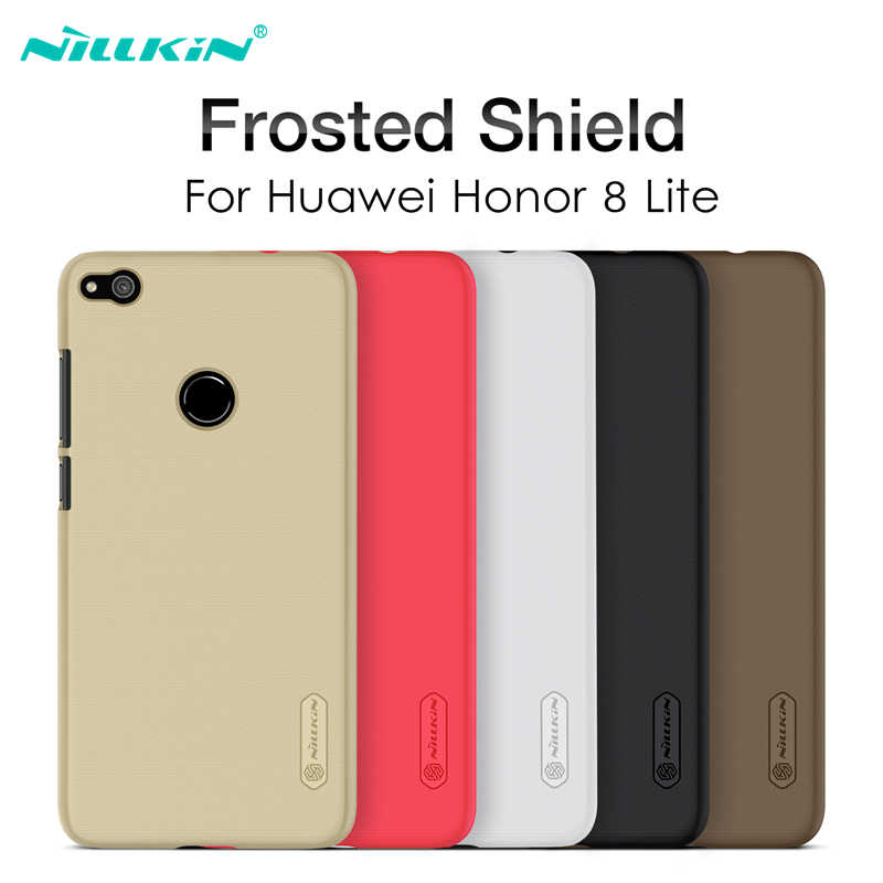 NILLKIN For Huawei Honor 8 Lite/ P8 Lite 2017/ P9 Lite 2017 Case Cover Matte Frosted Hard PC Honor 8Lite Case Cover Protective