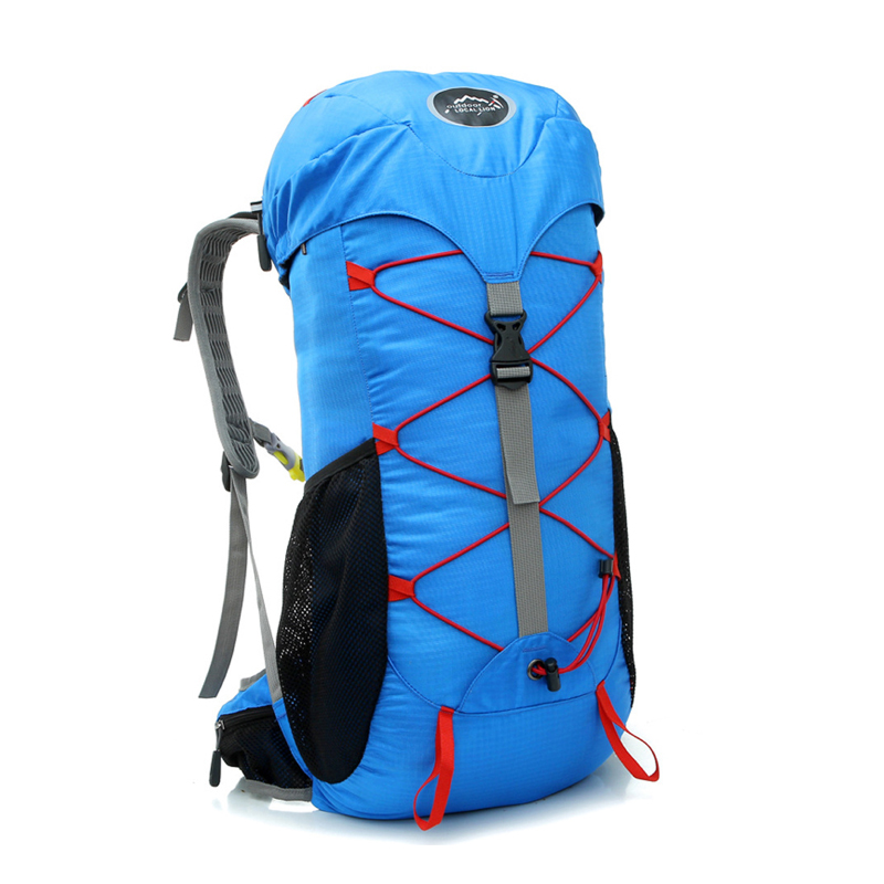 E0918 Multi-function Large Capacity Outdoor Backpack Camping Hiking Mountaineering Travel Bag Ride Packet 30L Multi-color Option